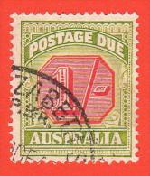 AUS SC #J70 U  1938 1sh Postage Due, CV $20.00 - Postage Due