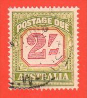 AUS SC #J82 U 1953 2sh Postage Due, CV $14.50 - Postage Due