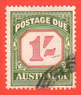 AUS SC #J94a  1960 1sh Postage Due (2nd Redrawing), CV $5.75 - Postage Due