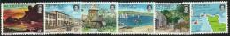 Great Britain Alderney 1983 Definitives Set 12 MNH - Alderney