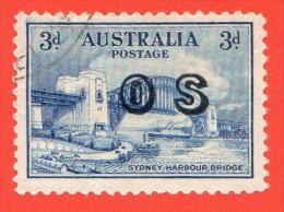 AUS SC #O13 U  1932 Sydney Harbor Bridge W/overprint, CV $24.00 - Officials