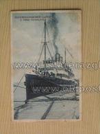 Brod 92 Ship Vapore Dampfer Prinz Hohenlohe Osterreichischer Lloyd - Dampfer