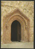 BARI Castel Del Monte Portale Nella Corte In Breccia Carollina 1985 - Bari
