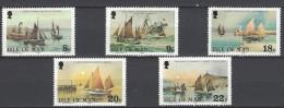 ISLE OF MAN - Mi-Nr. 182 - 186 - 100 Jahre Königliches Missionshaus Für Hochseefischer: Fischfangboote Postfrisch - Man (Insel)