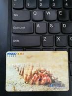 Prepaid Phonecard,Shell, Used - Chine