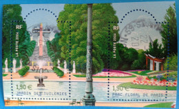 France 2004  : Jardins De France N° 3673 à 3674 Oblitérés - Usati