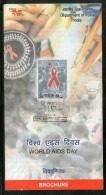 India 2006 World Aids Day Health Sc 2176 Cancelled Folder Inde Indien - Disease