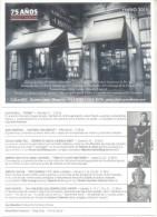 CLASICA Y MODERNA - BUENOS AIRES - ARGENTINE - DECLARADO SITIO DE INTERES CULTURAL DECLARADO BAR Y LIBRERIA NOTABLE - Winkels