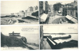 Cpa: 35 SAINT MALO  (4 Cartes) Artaud N° 72 - 81 - 203 - 366 - Saint Malo