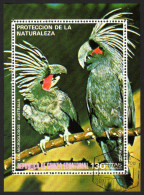 Guinea ECUATORIAL 1974 - Papagei, Parrots - Block 149 - Papegaaien, Parkieten