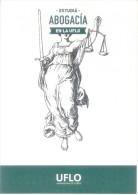 ESTUDIA ABOGACIA EN LA UFLO - UNIVERSIDAD DE FLORES - TARJETA PUBLICITARIA - CASA DE ALTOS ESTUDIOS ARGENTINE - School