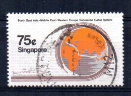 Singapore - 1986 - 75 Cents SEA -ME-We Submarine Cable Project - Used - Singapour (1959-...)