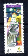 Singapore - 1997 - $1 25th Anniversary Of Ministry Of The Environment - Used - Singapour (1959-...)
