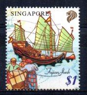Singapore - 1999 - $1 Maritime Heritage/Fujian Junk - Used - Singapour (1959-...)