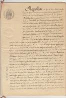 En 30 Pages 1863 Delahaute Hunnebelle Litige Train Chemin De Fer D'italie Section Du Bas Valais Materiel Appareil ... - Documents Historiques