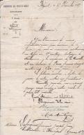 LA NOUVELLE - AUDE - NOMINATION Aux CHEMINS De FER Du MIDI - 1868 - Manuscrits