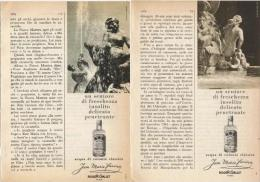 1964  - Acqua Di Colonia Jean Marie Farina (ROGER E GALLET)  -  3  P.  Pubblicità Cm. 13,5 X 18,5 - Riviste
