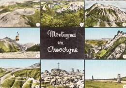 63 Montagnes En AUVERGNE - Puy Pariou Roches Tuilieres Puy De Sancy Aiguilles Du Sancy Col Diane Pierre S Haute Col Beal - Andere Gemeenten