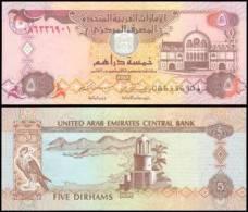 United Arab Emirates #19c, 5 Dirhams, 2004/AH1425, UNC / NEUF - Emirats Arabes Unis