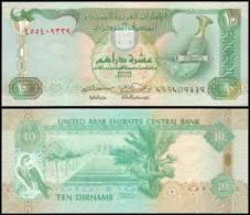 United Arab Emirates #20b, 10 Dirhams, 2001/AH1422, UNC / NEUF - Emirats Arabes Unis