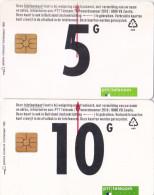Nederland 1994 PTT Telecom :5 - 10 Gulden - Nederland