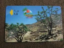 GPT Phonecard,43OMNV Frankincense Tree,used - Oman
