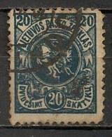 Timbres - Lituanie - 1922- 20 S. - - Lituanie