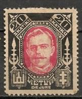 Timbres - Lituanie - 1923- 20 S. - - Lituanie