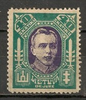 Timbres - Lituanie - 1923- 40 S. - - Lituanie