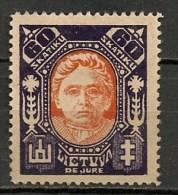 Timbres - Lituanie - 1923- 60 S. - - Lituanie