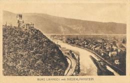 Burg Lahneck Mit Niederlahnstein - Lahnstein