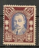 Timbres - Lituanie - 1923- 3 A. - - Lituanie