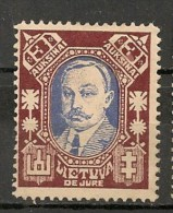 Timbres - Lituanie - 1923- 3 A. -