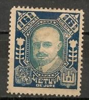 Timbres - Lituanie - 1923- 6 A. -