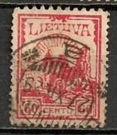 Timbres - Lituanie - 1923- 60 C. - - Lituanie