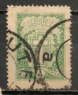 Timbres - Lituanie - 1927 - 5 C. -