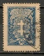 Timbres - Lituanie - 1929/31 - 30 C. - - Lituanie