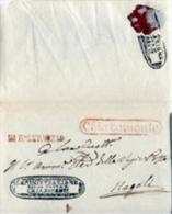 Chiaromonte-00230b - Piego (senza Testo) - Bollo Amministrativo Postale Al Verso Come Suggello. - Italia