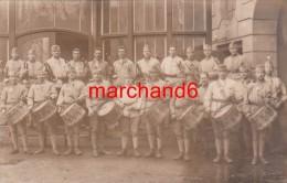 A Trouvé Identifié!! Allemagne Carte Photo Militaire Musique Troupe Groupe Se Trouvais Avec Un Lot Dont Une Etait Sinsen - Cartoline