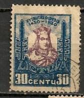 Timbres - Lituanie - 1930 - 30 C. -