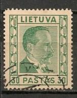 Timbres - Lituanie - 1936/37 - 30 Pastas. - - Lituanie