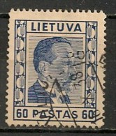 Timbres - Lituanie - 1936/37 - 60 Pastas. - - Lituanie