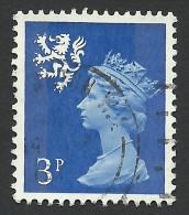 Scotland, 3 P. 1971, Sc # SMH2, Used - Regional Issues
