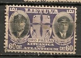 Timbres - Lituanie - 1934 - Aereo - 60 C. - - Lituanie