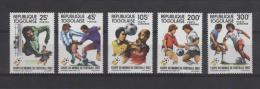 TOGO   N°1074/75    PA 473/75    * *    ( Cote 6.80e ) Cup 1982  Football  Soccer Fussball - Coppa Del Mondo