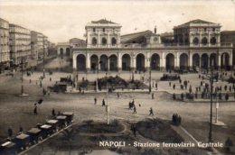 CPA NAPOLI - STAZIONE FERROVIARIA CENTRALE - Napoli (Naples)