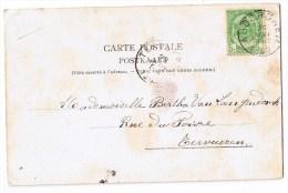 Auderghem Anderghem Oudergem Les Deux Chaussées Animée  1903 - Auderghem - Oudergem
