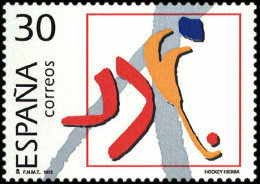 España 3370 ** Deportes Olimpicos. Plata. 1995 - 1931-Tegenwoordig: 2de Rep. - ...Juan Carlos I