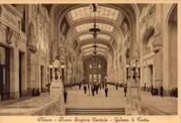 CPA MILANO - NUOVA STAZIONE CENTRALE - GALLERIA DI TESTA - Milano (Mailand)
