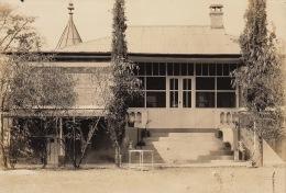 Grande Photo Ancienne Afrique Congo CSK Maison Du Directeur - Autres Collections